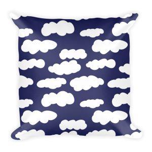 Pillow | Clouds | Navy