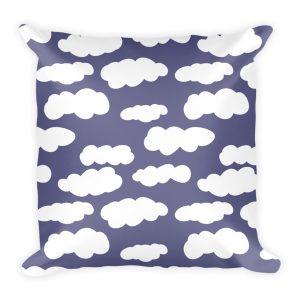 Pillow | Clouds | Light Navy
