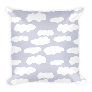 Pillow | Clouds | Gray
