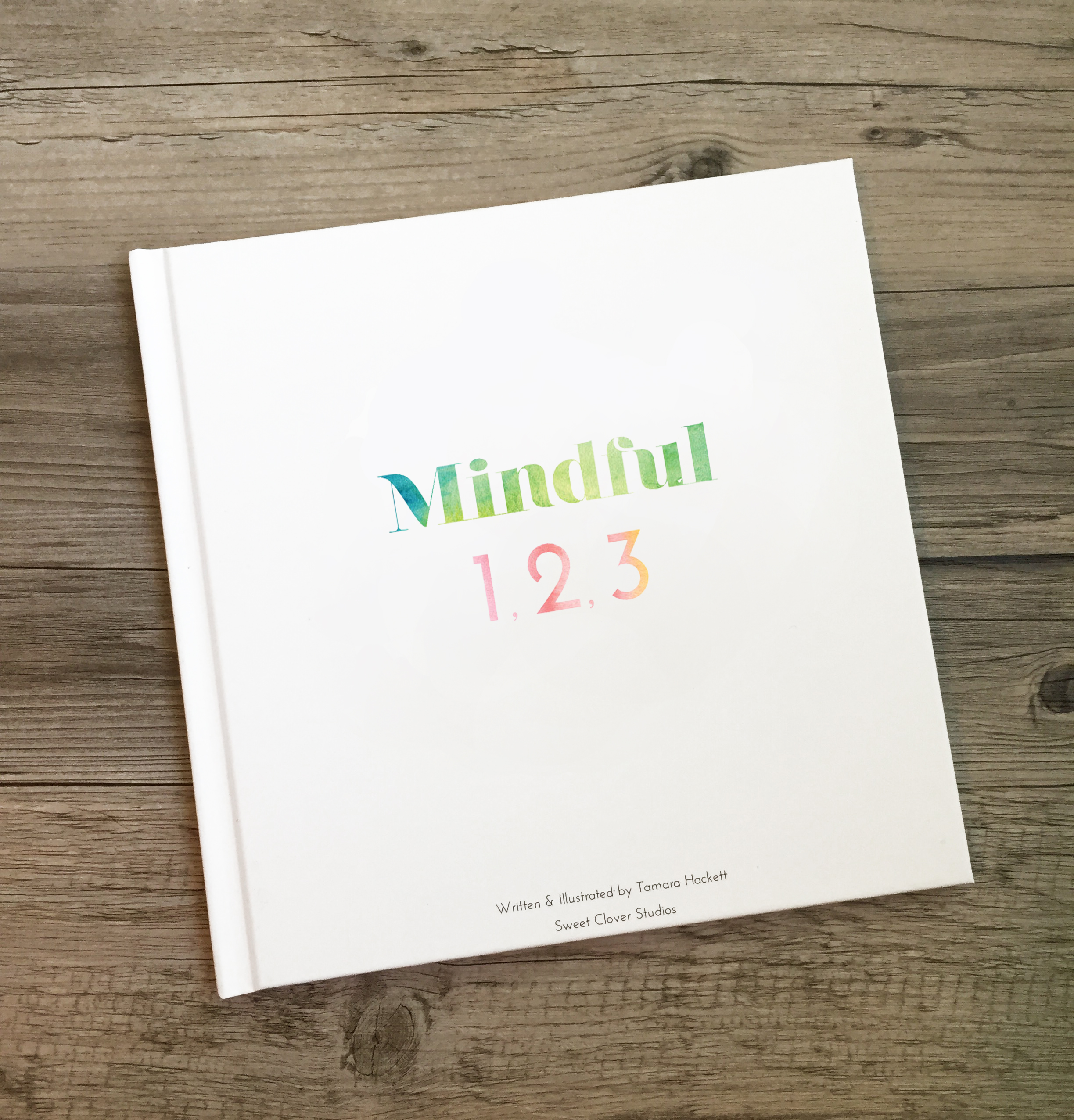 Mindful 123 Hardcover Book